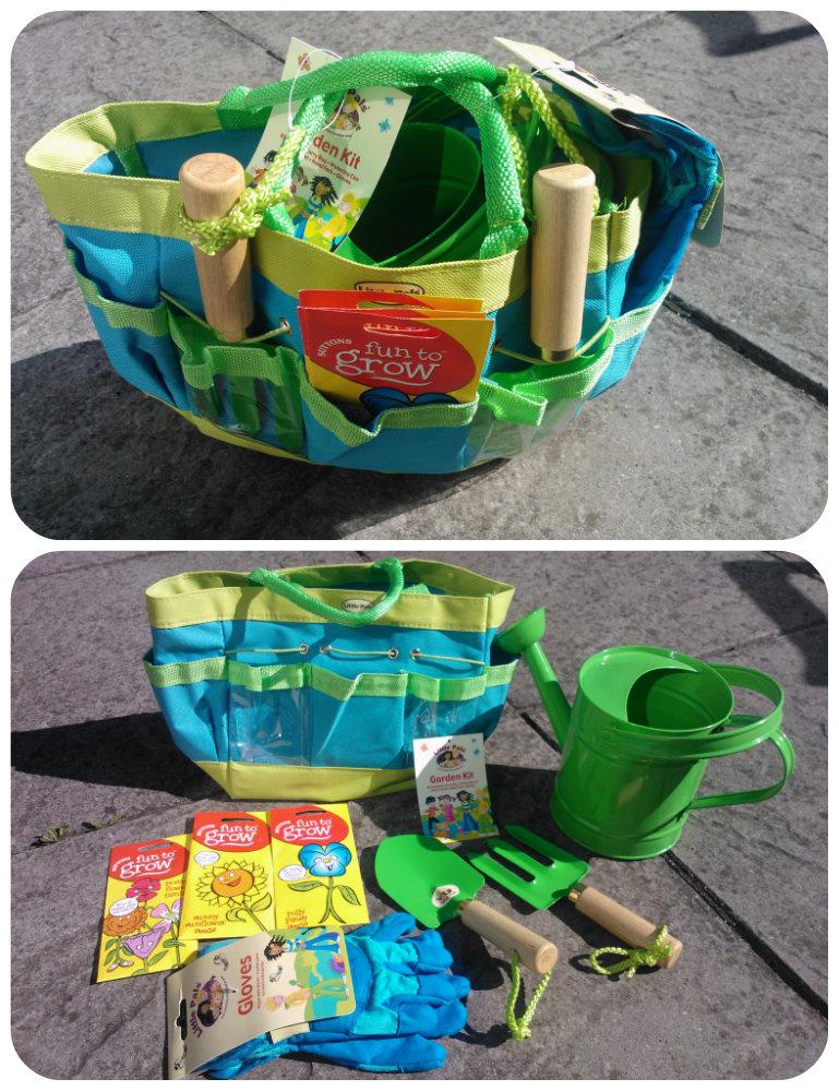 Gardening for children kidsgrowwild challenge mummy 39 s for Gardening kit for toddlers