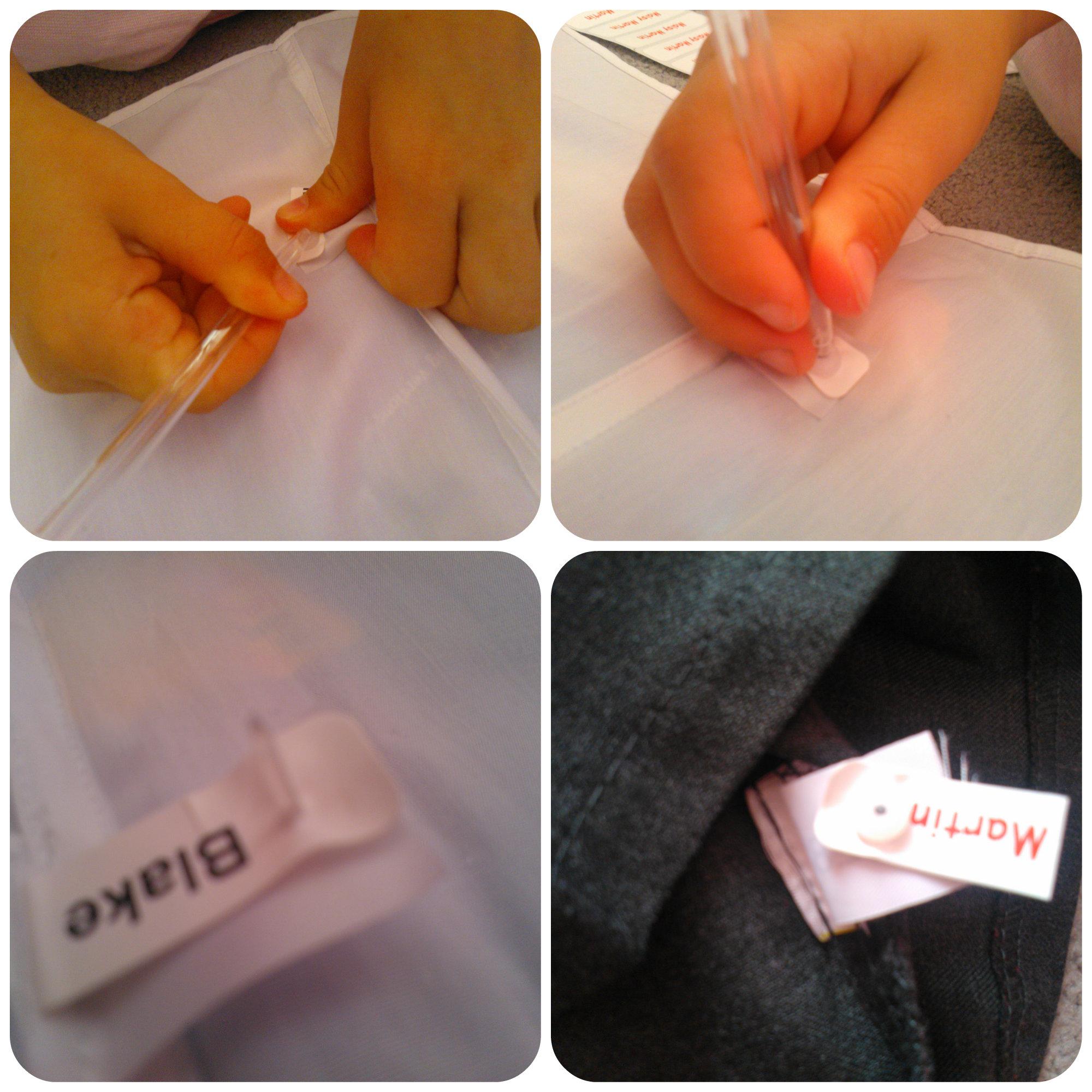 name tags 2 School Uniform Name Tags   Nametags4u Review