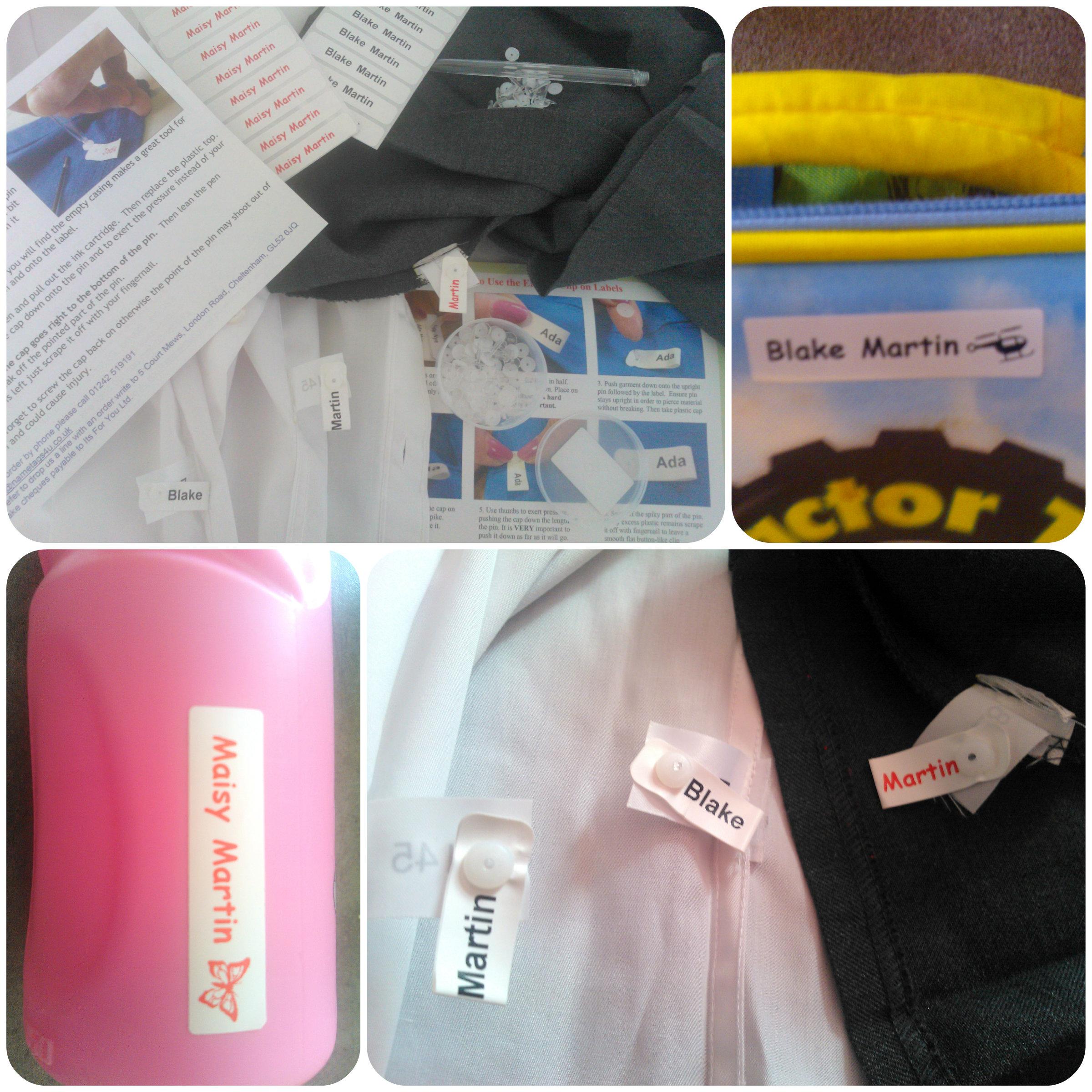 name tags 3 School Uniform Name Tags   Nametags4u Review