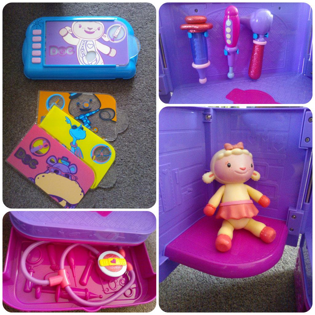 doc mcstuffins playset 3 1024x1024 Doc McStuffins Carry Along Clinic Playset Review