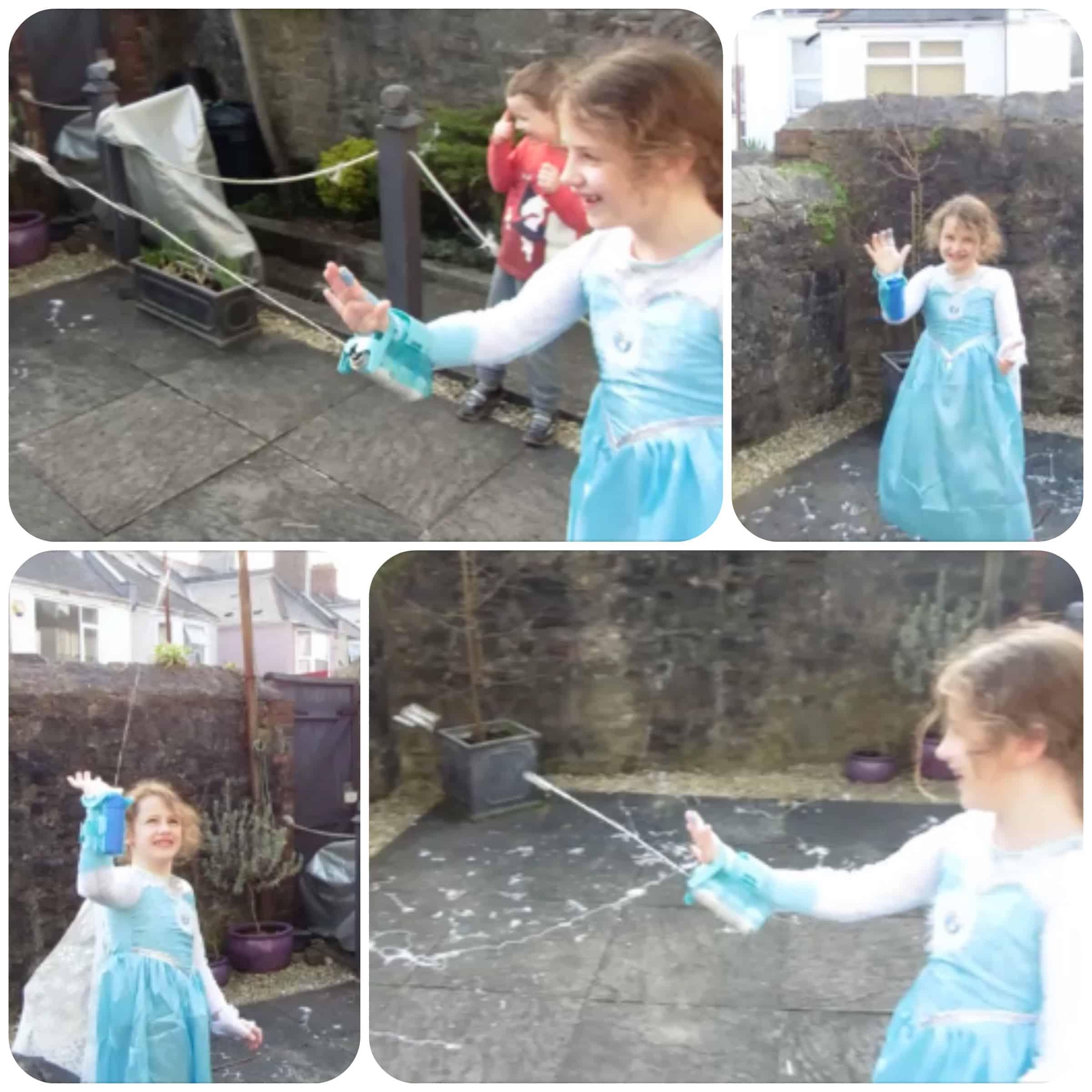 Frozen Magic Snow Sleeve - YouTube